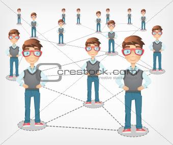 Cartoon_Ideas_Social_Network_01