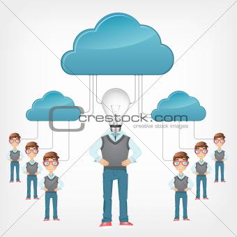 Cartoon_Ideas_Cloud_Service_07