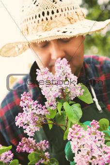 Spring garden concept