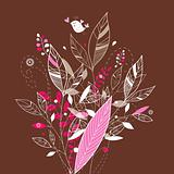 graphic leaves