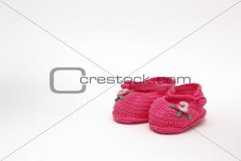 Baby's bootie pink
