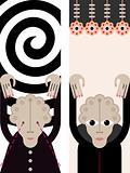 Hypnosis - vector illustration