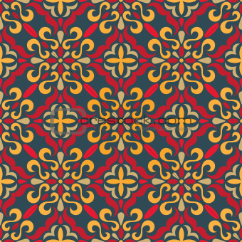 Traditional seamless pattern