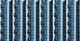 Abstract glass facade