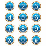 Numbers icons