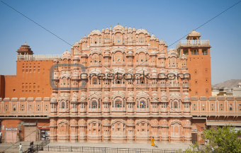 Hawa Mahal, the Palace of Winds, Jaipur, Rajasthan, India.