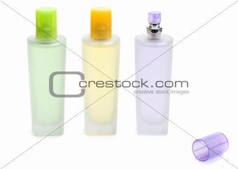 Three perfume bottle