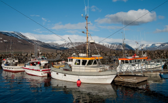 Icelandic Fishing Boats