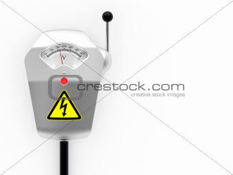 Metallic electric switch box