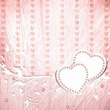 Wedding vintage pink background 