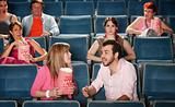 Loud Couple in Theater