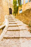 Stone Steps Masonry Village Gordes