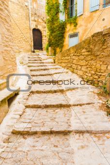 Stone Steps Masonry Village Gordes