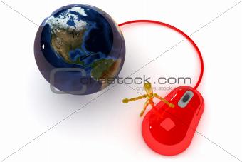Internet Concept USA