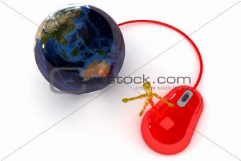 Internet Concept (Australia / Japan)