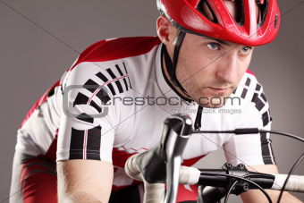 cyclist on a bicycle