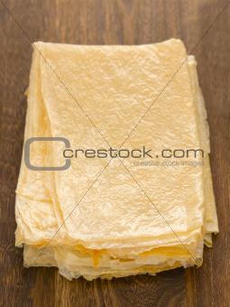 beancurd sheets