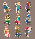 travel people stickers