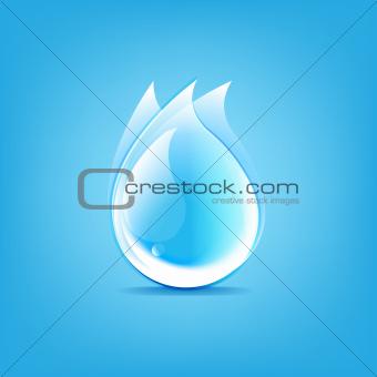 Water Drops Symbol