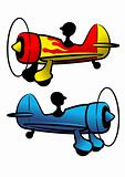 The funny aircrafts