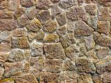 Stone  wall from an old building.