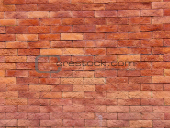 Brick wall from an old house