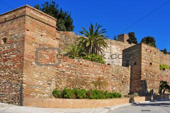 Alcazaba of Malaga, in Malaga, Spain