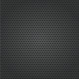 metal background with holes closeup. Vector Illustration
