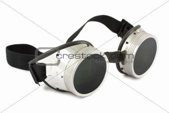 Retro welding goggles