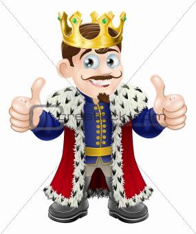King cartoon