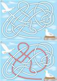 Seagull maze