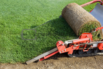 Grass Baling Machine