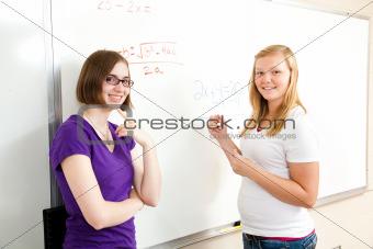 Algebra Class - Teen Girls