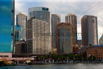 Circular Quay, Sydney Harbour, Australia