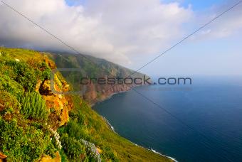 Cliffs, Madeira island