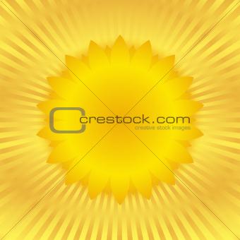 Vector Sunburst