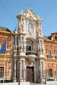 Palace of San Telmo in Seville