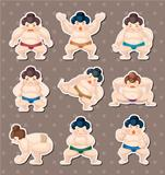 sumo player stickers