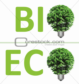 concept, symbolizing green energy