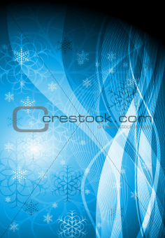 Wavy Christmas design