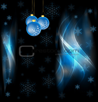 Abstract x-mas design
