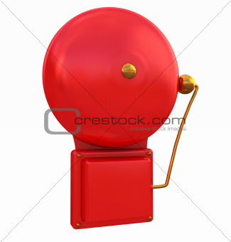 3d Rendered Alarm Bell