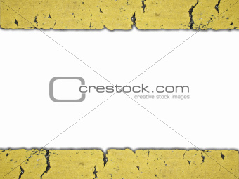 Frame of line sign