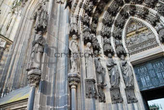 Door of Cologne cathedral
