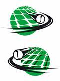 Tennis sports elements