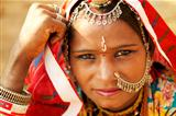 Beautiful Indian woman