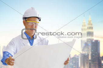 Asian engineer