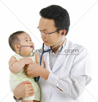 Children&#39;s doctor