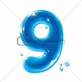 Abc Series - Water Liquid Number Nine