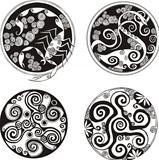 Round spiral designs